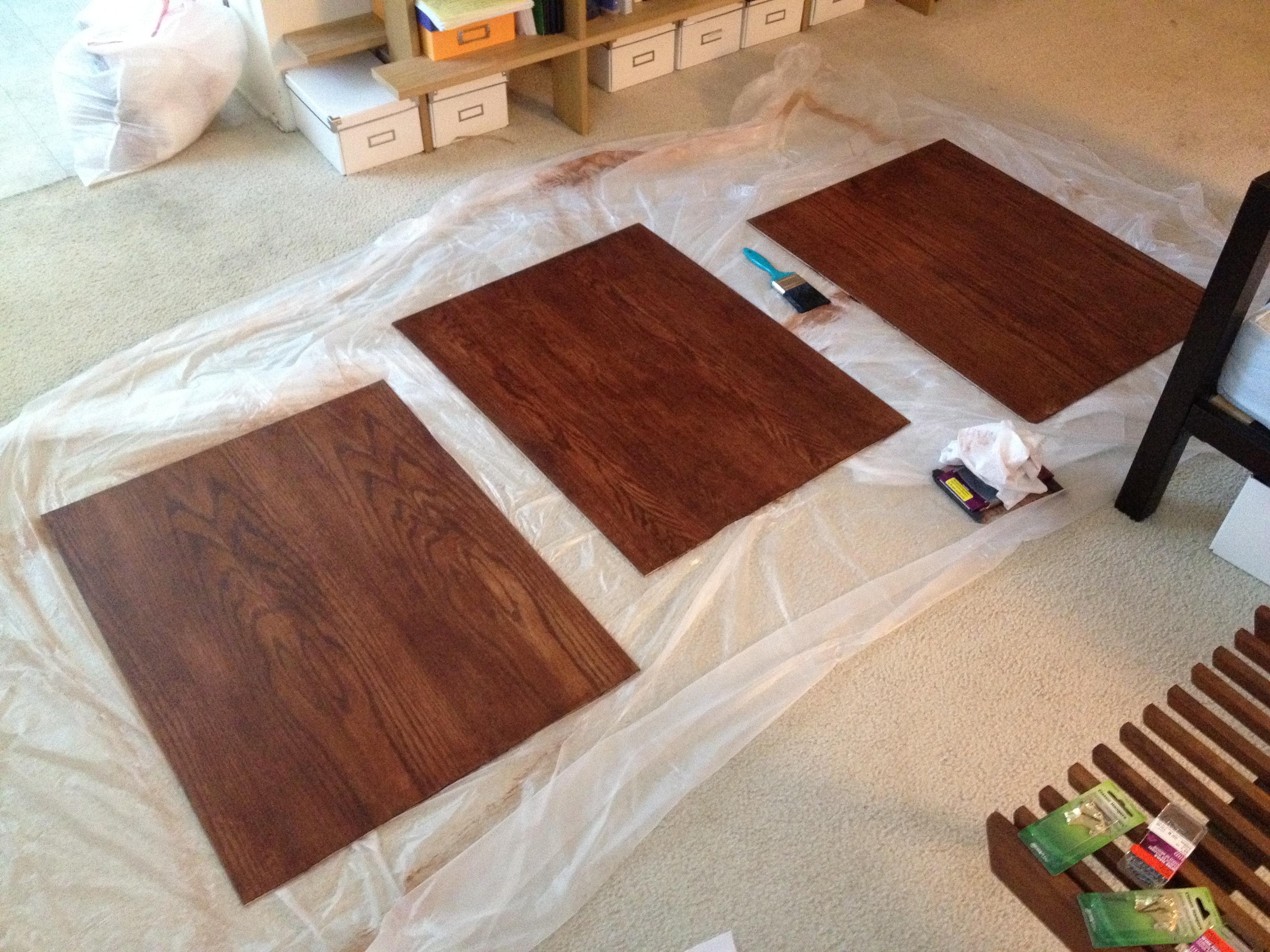 Wood Stain Vapors