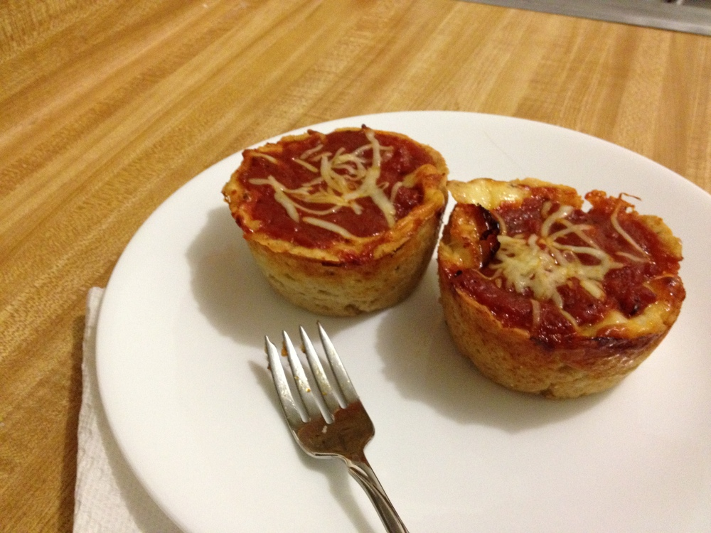 Mini Deep Dish Pizzas (gluten-free) (1/4)