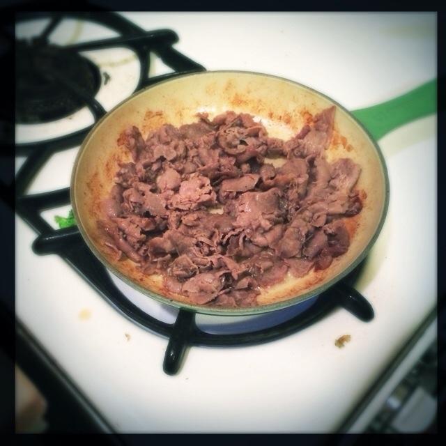 Paleo Fried Roast Beef (2/3)