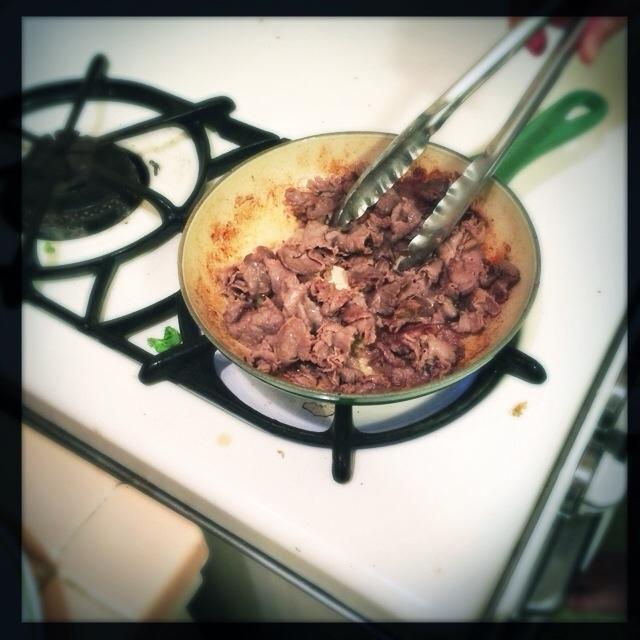 Paleo Fried Roast Beef (3/3)