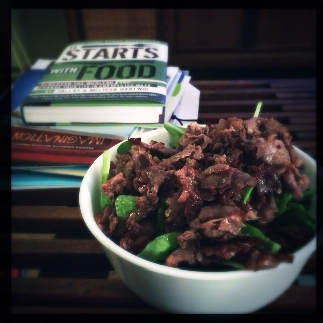 Paleo Fried Roast Beef (1/3)