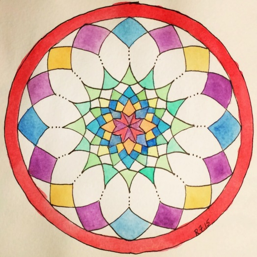 Time Lapse Mandala_Finished