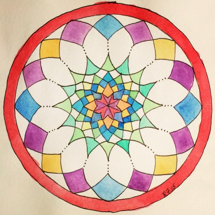 Time Lapse Mandala_Finished