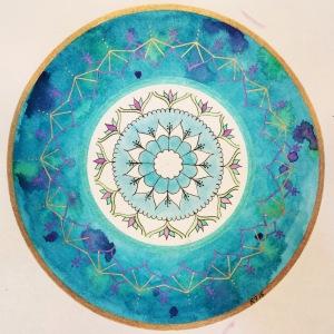 BrilliantAqua Mandala